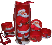 Santa Tower 6pc Set - SOLD OUT