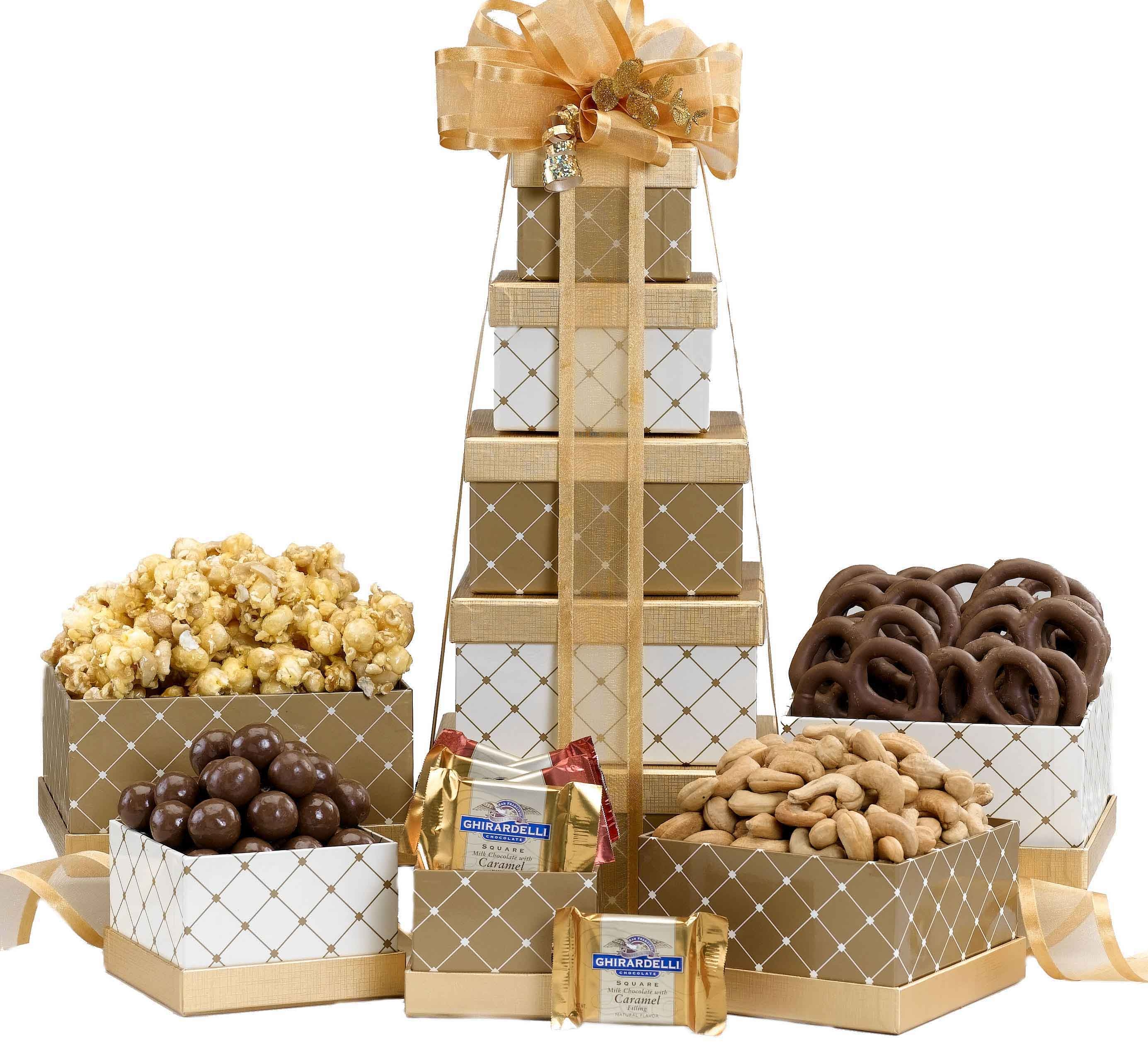 Holiday Gift Towers -- Wholesale Gift Tower Boxes -- Wholesale ...